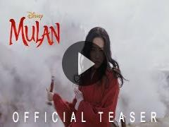 Mulan vows, 'I will bring honor to us all,' in first live-action teaser