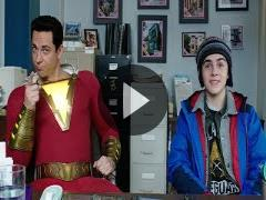 Zachary Levi fights villains, shops for lair in 'Shazam!' trailer